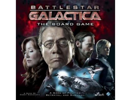 """Настольная игра Battlestar Galactica (Космический крейсер """"Галактика"""")"""