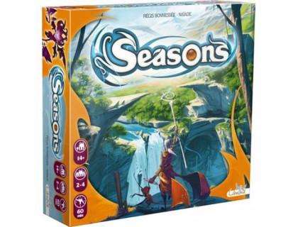 Настольная игра Seasons (Сезоны, Времена года) российское издание
